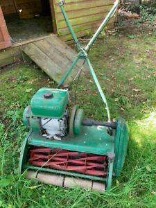 """Classic Lawnmower the ransome marquis 20"""", needs lovely new home and lawn"""