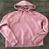 Ivory Ella Large Mauve Pink Elephant Organic Hoodie Sweatshirt Boxy Spring Cozy