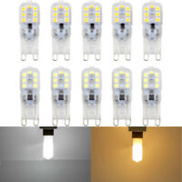 10 X G9 5W LED Dimmable Capsule Bulb Replace Light Lamps AC220-240V Y9H1