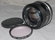 Canon 50mm f1.4 FD Lens Modified For Canon EOS DSLR
