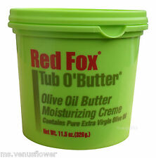 Red Fox Tub O' Butter Olive Oil Butter Moisturizing Creme