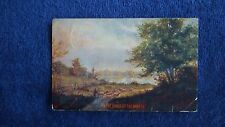 Vintage Used 1907 Postcard-On the Banks of the Wabash-Free Shipping