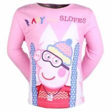 Peppa Pig Long Sleeve T-Shirts & Tops (2-16 Years) for Girls
