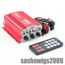 Mini 2 Channels kinter MA-700 Power Red Amplifier Ipod Mp3 Hi-Fi Stereo Audio