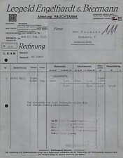 BREMEN, Rechnung 1923, Zigarren- und Tabak-Fabrik Leopold Engelhardt & Biermann