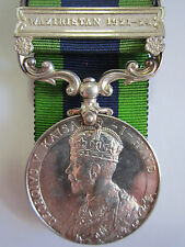 British India General Serv. Medal - WAZIRISTAN 1921-24 Pte. A.J. Wilcox R.A.S.C.