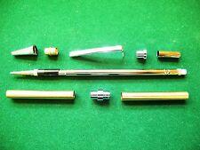 Woodturning SLIMLINE Pencil Kit in Polished Chrome
