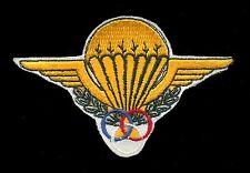 Cloth French Para Instructor wings - Brevet de moniteur parachutiste
