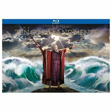 The Ten Commandments Blu-ray 6-Disc Set 2013 Ultimate Collectors Edition Heston
