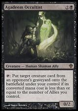 Agadeem Occultist   EX PLAYED  Worldwake MTG Magic Cards Black Rare
