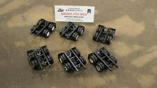 DCP LOT OF 6 PARTS CHASSIS W/ 2 AXLES WHEELS - CUSTOM SEMI TRAILER BUILD 1/64