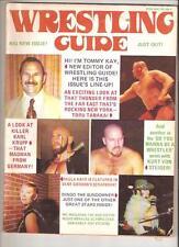 Ladies Official Wrestling Magazine NWA WWWF Killer Krupp AWA Dingo Bass Mascaras