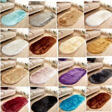 Household Carpet Floor Mats Oval Soft Non-slip Blanket Rugs Carpets Sofa Mat Rug