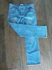 Levis 505 Straight Leg Blue Jeans Size 14 Medium Wash Denim Women's Levi Strauss
