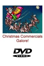 CHRISTMAS COMMERCIALS GALORE! 2 HOUR DVD CHOCK FULL OF VINTAGE XMAS COMMERCIALS