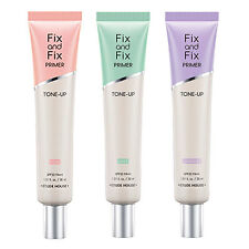 [ETUDE HOUSE] Fix And Fix Tone-Up Primer 30ml 3 Color / Bright morning makeup