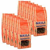 25 kg Premium Grill Briketts Grillkohle BBQ Holzkohle Holzkohlebriketts