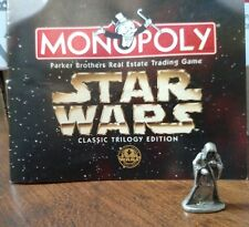 Emperor Pewter Game Token Monopoly Star Wars Classic Trilogy Edition 1997