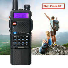 Canada Stock BAOFENG UV-5R Dual Band Radio Ham Walkie Talkie + 3800mAH Battery