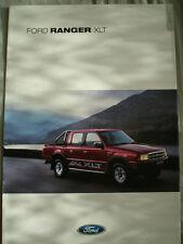 FOLLETO De Ford Ranger Xlt Octubre de 2001