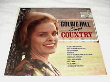 "Goldie Hill ""Sings Country"" 1960's Country LP, SEALED!, Original Vocalion"
