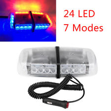 For Police Car 240 LED 12V Roof Top Emergency Urgency Warning Strobe Flash Light