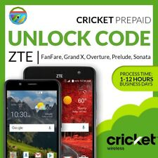 UNLOCK CODE FOR ZTE FANFARE 2 Z815 CRICKET PREPAID FROM AMAZON/BESTBUY/WALMART