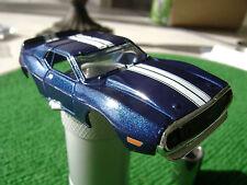 New AW Autoworld Blue AMC Javelin HO Xtraction Slot Car Body Fits Aurora AFX .