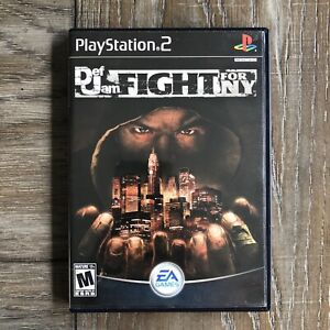 Def Jam Fight for NY (Sony PS2, 2004) working TESTED Fast Shipping PLEASE READ