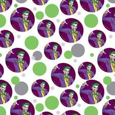 Batman Joker Character Premium Gift Wrap Wrapping Paper Roll