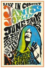 Janis Joplin *POSTER* 1968 Schenectady New York - Aerodrome print  PSYCHEDELIC