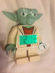 Yoda Lego Alarm Clock - Star Wars (2014)