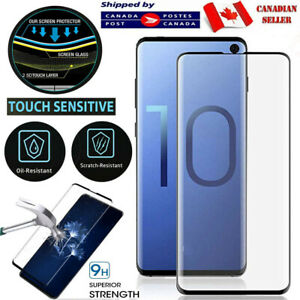 For Samsung Galaxy S8 S9 S10 S20 Plus S20fe S10e Tempered Glass Screen Protector