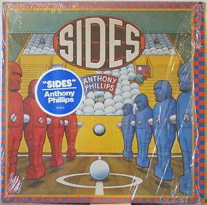 ANTHONY PHILLIPS Sides LP Prog ex-Genesis guitarist—in Shrink, w/ Hype Sticker