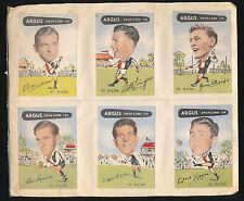 1954 Argus cards St Kilda Team Set X 12 card Neil Roberts Bruce Phillips