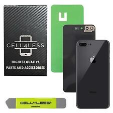 Apple iPhone 8 Plus Back Glass w/ Camera Lens OEM Replacement Battery Door Cover