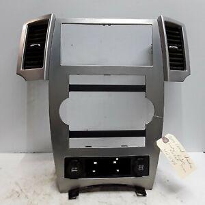 08 09 10 Jeep Grand Cherokee radio heater AC control bezel trim OEM