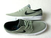 Nike Mens Air Zoom Janoski RM PRM Suede Skate Shoes Jade Green Size 9.5 NEW