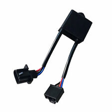 "2x H4 To H13 Jeep Wrangler JK Anti-Flicker Decoder Kit Fr 7"" Round LED Headlight"