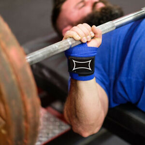 Sling Shot Wrist Wraps by Mark Bell - Multipurpose weight lifting supports!