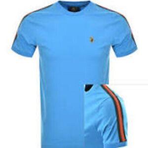 Luke 1977 Iron Ribbon T Shirt Light Blue Large \ BN Authentic - UK Seller