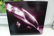 1999 lincoln navigator ford estados unidos auto folleto car brochure catalogo!!!