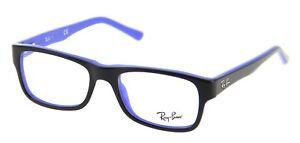 Sunglasses Of Eye Ray-Ban RX5268 5179 Top Black On Blue Cal.50