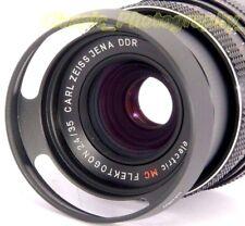 Zeiss Flektogon 2.4/35mm Pancolar ORESTON 1.8/50 BIOTAR Fit E49 Metallo Paraluce