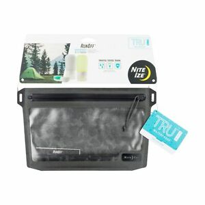 Nite Ize RunOff Waterproof 3-1-1 Pouch 1-Quart Bag TSA Approved Clear Leakproof