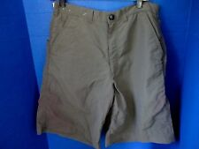 PACIFIC CREST~Army Green 100% Nylon HIKING SHORTS~Men's 32