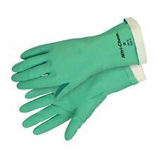 Safety Works C5319S Chemical Nitrile Glove Flocked, Small