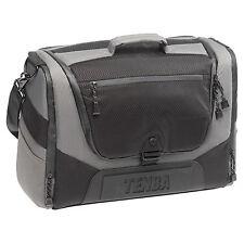 "NEW Tenba Shootout DSLR Camera / 17"" Laptop Courier Bag – Silver/Black (632-702)"
