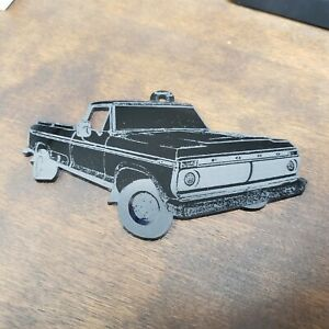 1973 FORD F100 LASER ETCHED ORNAMENT