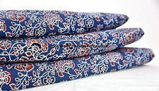 5 Yards Indian Handmade printed Fabric hand Block print 100% Cotton Dress fabric
